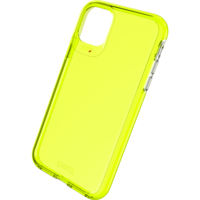 Étui antichoc Gear4 Crystal Palace Neon Case iPhone 11 - Jaune