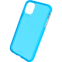 Étui antichoc Gear4 Crystal Palace Neon Case iPhone 11 - Bleu