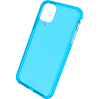 Étui antichoc Gear4 Crystal Palace Neon pour iPhone 11 Pro Max - Bleu