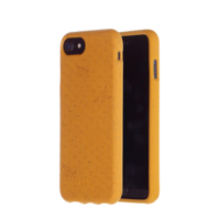 Coque Pela Eco respectueuse de l'environnement biodégradable iPhone 6 6s 7 8 SE 2020 - Honey Bee Yellow