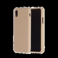 Étui de protection biodégradable écologique Pela Eco pour iPhone 11 - sable