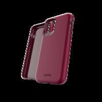 Étui amortisseur Gear4 Holborn pour iPhone 11 Pro - Bourgogne