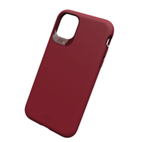 Coque Gear4 Holborn avec protection anti-choc pour iPhone 11 - Bourgogne
