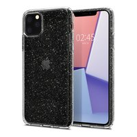 Coque Spigen Liquid Crystal Housse de protection mince TPU iPhone 11 Pro Max - Transparent Glitter