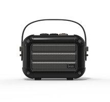 Divoom Macchiato haut-parleur sans fil haut-parleur bluetooth radio - Noir