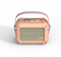 Radio haut-parleur Bluetooth sans fil Divoom Macchiato - Rose clair