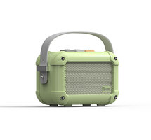 Divoom Macchiato haut-parleur sans fil Bluetooth haut-parleur radio - Vert clair