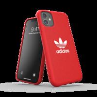 Housse en toile moulée adidas iPhone 11 - Rouge