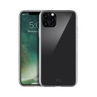 Coque Xqisit en verre trempé TPU antichoc iPhone 11 Pro - Transparent