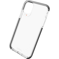 Coque iPhone 11 Gear4 Piccadilly Protection - Noire Transparente
