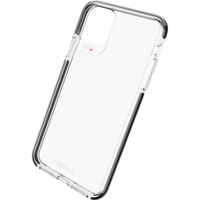 Coque iPhone 11 Pro Max Gear4 Piccadilly - Noire Transparente
