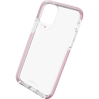 Coque iPhone 11 Pro Gear4 Piccadilly Protection - Transparente Or Rose Or