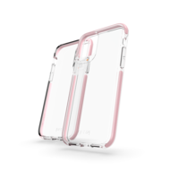 Coque iPhone 11 Gear4 Piccadilly Protection - Transparente Or Rose Or