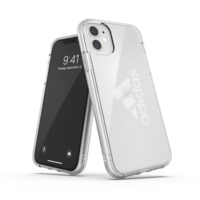 Étui de protection adidas grand logo performance iPhone 11 - Transparent