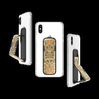 CLCKR bande de poignée universelle pour smartphone tigre - Or