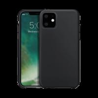 Housse de protection en silicone Xqisit pour iPhone 11 - Noire