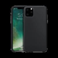 Coque de protection en silicone Xqisit pour iPhone 11 Pro Max - Noire
