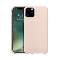 Coque de protection en silicone Xqisit pour iPhone 11 Pro Max - Rose clair
