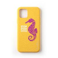 Étui de protection biodégradable Wilma Stop en plastique Seahorse iPhone 11 Pro - Jaune