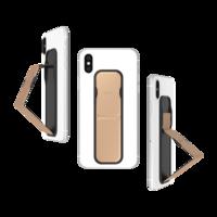 Smartphone universel à bande brillante CLCKR, poignée brillante métallisé - Rosé