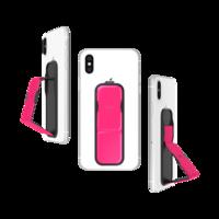 CLCKR Smartphone universel avec bande de poignée au néon - Rose