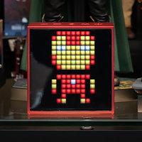 Divoom Timebox-Evo Pixelart Speaker - Réveil Rouge