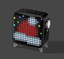 Divoom Tivoo haut-parleur max Bluetooth LED pixel art - Noir
