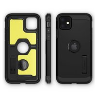 Coque iPhone 11 Spigen Tough Armor Protection - Noire