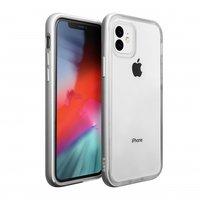 Coque Antichoc Laut Exoframe pour iPhone 11 - Argent
