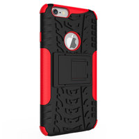 Coque de protection antichoc iPhone 6 6s - Rouge