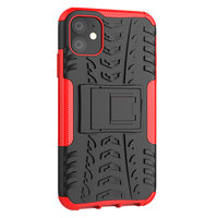 Coque de protection antichoc iPhone 11 - Rouge