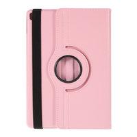 Coque iPad 10.2 pouces en cuir texturé Litchi avec coque - Rose Protection Standard