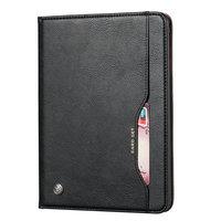 Etui Portefeuille Etui Portefeuille Avec Porte-Stylo En Cuir Artificiel Pour iPad 10.2 Pouces - Noir
