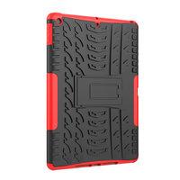 Béquille en plastique TPU pour iPad 10,2 pouces - Rouge