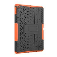 Béquille de protection de profil de bande en plastique TPU iPad 10,2 pouces - Orange
