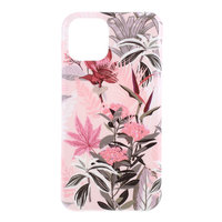 Coque Coque Blossom Flowers Flowers Nature TPU Flexible Shock Absorbing pour iPhone 11 - Rose