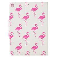 Etui Portefeuille Etui Portefeuille Faux Cuir Nature Bird Flamingo pour iPad 10.2 - Rose