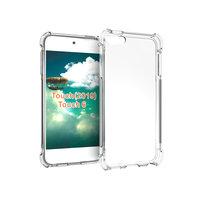 Étui en TPU antidérapant résistant aux chutes pour iPod Touch 5 iPod Touch 6 iPod Touch 7 - Transparent