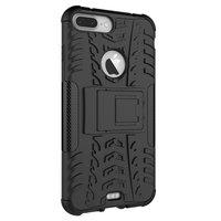 Coque de protection antichoc iPhone 7 Plus 8 Plus - Noire