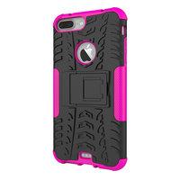 Coque de protection antichoc iPhone 7 Plus 8 Plus - Or rose doré