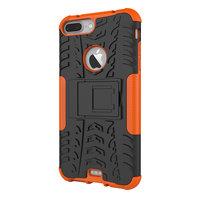 Coque de protection antichoc iPhone 7 Plus 8 Plus - Orange