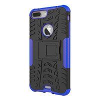 Coque de protection antichoc iPhone 7 Plus 8 Plus - Bleu