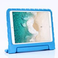 Support de poignée de boîtier en EVA antichoc adapté aux enfants non toxique pour iPad 10.2 iPad Air 3 10.5 iPad Pro 10.5 - Bleu