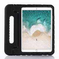 Support de poignée de boîtier en EVA antichoc adapté aux enfants non toxique pour iPad 10.2 iPad Air 3 10.5 iPad Pro 10.5 - Noir