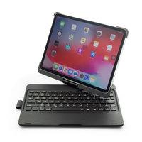 F360B 360 Degrés Pivotant Rotatif ABS Clavier Bluetooth Housse Pour iPad Pro 11 Pouces - Noir