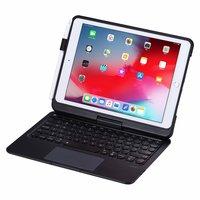 Etui clavier rotatif Bluetooth iPad 10,2 pouces - QWERTY 7 couleurs
