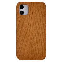 Coque iPhone 11 en bois de cerisier - Bois véritable Nature