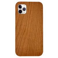 Coque iPhone 11 Pro Max en bois de cerisier - Bois véritable Nature