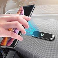 Tableau de bord de voiture magnétique pour support de téléphone Wozinsky - Noir