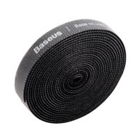 Baseus Velcro roll 3m - Noir Attache-câble